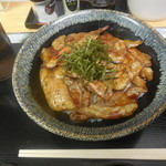 飯処にっくん - ホエー豚丼(小) ¥570- *学割価格