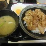 飯処にっくん - スタミナ丼(ニンニク) ¥710- *ランチメニュー