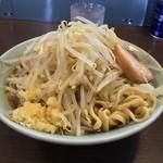 41857920 - ラーメン 小(麺かた・ヤサイ・ニンニク少し ¥700)9/13/2015