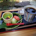 窯元カフェ はづき - 珈琲と抹茶プリン