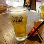 たこ焼酒場 しん家 - 生ビール