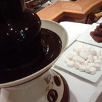レストラン イル・ペペ - チョコレートフォンデュ