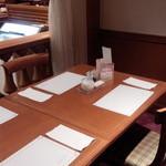 レストラン イル・ペペ - テーブルの様子