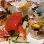 レストラン イル・ペペ - サラダや冷菜盛り合わせ