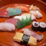 ひょうたん寿司 - ジャンボ定食900円(税込)
