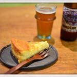 ふくや珈琲店 - おからのベイクドチーズケーキ 2015.9