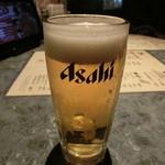 北の味紀行と地酒 北海道 - 泡切れの良い生ビール