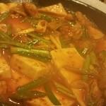 41860724 - ホル辛豆腐