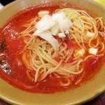 41861118 - イタリアントマトとモッツァレラ