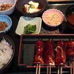 鈴の屋 - 菜めし田楽定食1050円