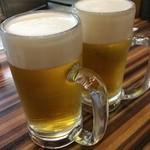 お好み焼 きじ - 生ビール