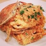 アロマティエ - 渡り蟹のトマトクリームパスタ(夜レストランのみ)