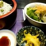 ゆかわ - 『釜揚げしらす丼』定食¥1026-