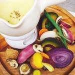 アロマティエ - チーズフォンデュ~季節のお野菜をのせて~