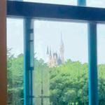 ビュッフェザグレース - 客席の窓からはシンデレラ城