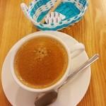 カレーのチカラ - ホットコーヒー 210円 2015/09