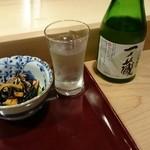 滝鮨 - 冷酒の図
