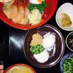 割烹 菊英 - 海鮮づけ丼