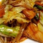 桂林 - 回鍋肉アップナス(*≧∀≦*)