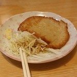 うどん華 - つまみ用のまる天(150円)