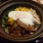 41867064 - ランチ:土鍋炊き鶏飯