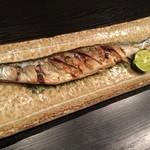 大寿司 - 新秋刀魚塩焼き