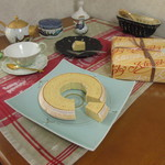 カッセル - 料理写真:バウムクーヘン