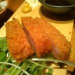 大衆酒場 肉番長 - 厚切りハムカツ390円