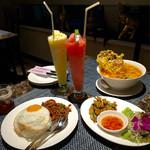 タイレストラン タニサラ - ある日曜日のディナー