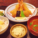 えび家 - 洋食膳