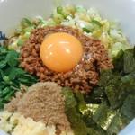 特級鶏蕎麦 龍介 - 台湾まぜそばアップ