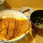 瑞兆 - かつ丼(1000円)全景
