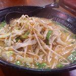 長秀龍 - 野菜味噌ラーメン