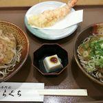 41873028 - 福井名物の天おろし蕎麦 Wを注文