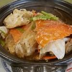 41873798 - 渡り蟹と春雨の土鍋炒り煮 (2人前5000円)