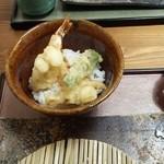 そば処 和 - ミニ天丼