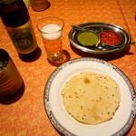 ヒマラヤン - キリンフリー、おせんべいとソース