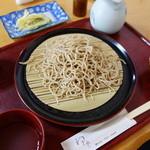 41877722 - もり(¥750税込み)提供はご主人自ら、食の順番を丁寧に説明されます