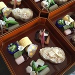 日本料理天ぷらあい田 - 料理写真:春の点心弁当になります