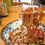 41878394 - 食感は、ごく普通の味わい、どこがゴム蕎麦なのだろうか・・・