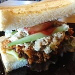 トレモロ - 「モーニングセット」のサンドイッチ