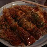 胡桃屋 - 肉玉そばダブル