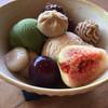 みそらやcafe - 料理写真:秋限定栗パフェ。モンブラン、栗きんとん、栗アイス入り♩