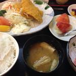 海鮮亭 いっき - 真あじフライ定食¥1080
