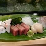 滝鮨 - 刺身