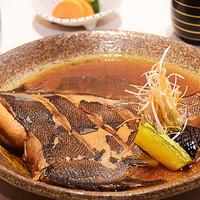 旬彩和さび - 子持ち鰈の煮付けランチ¥1,200(税別)