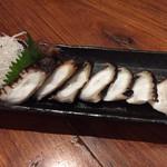 海鮮居食屋 活 - 島タコ刺身 750円