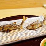 北大路 おたぎ - 焼物 琵琶湖の小鮎炭火焼き