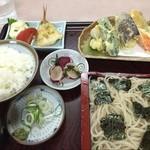 味の店 そば菊 - そば定食(上) ¥950 コスパ最高です