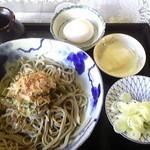 ななつほし - 2015.9.14 ぶっかけ蕎麦